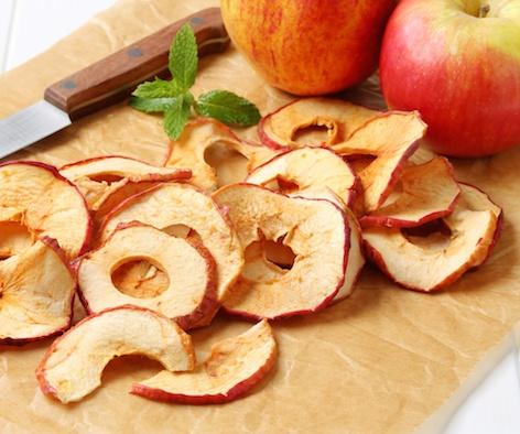 Healthy Birthday Treats | Cinnamon Apple Slices