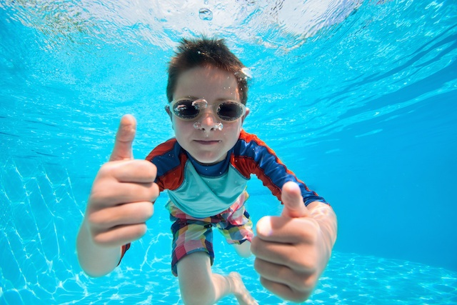 Swim Tips for Kids with Sensory Sensitivity