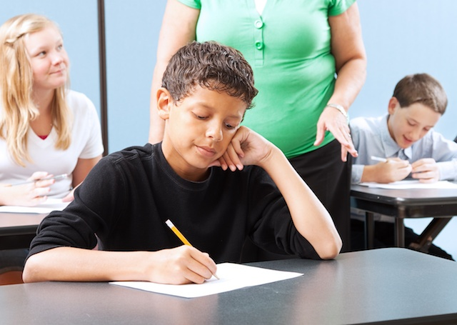 Test Struggles and Anxiety for Student with Learning Disorder