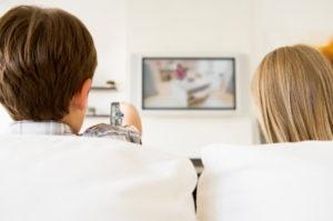 watching tv brain grey matter kids