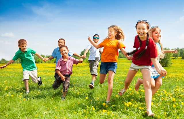 Outdoor Play for Healthy Childhood Development