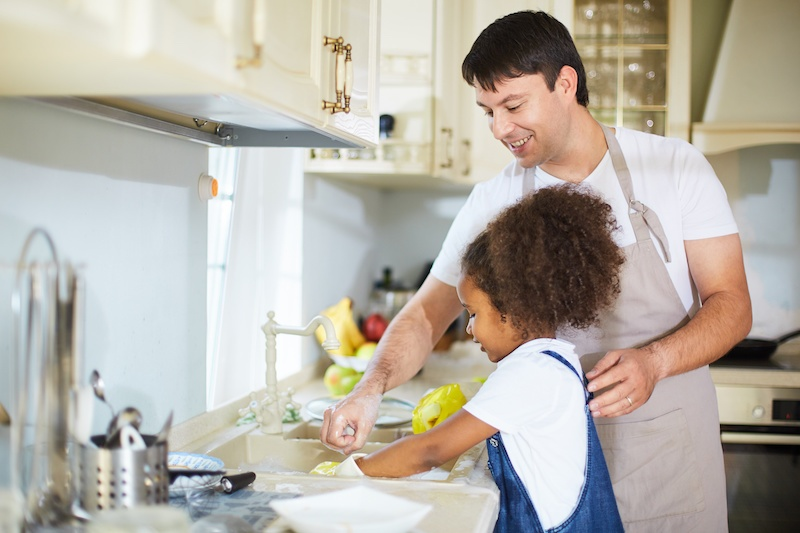 Routine and Chores for Better Behavior