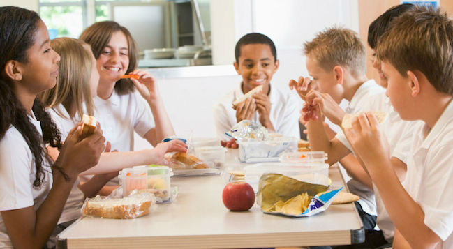 School Lunchroom Tips for Kids with Processing Disorders