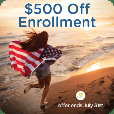 TEXTING_ 500 off enrollment SUMMER