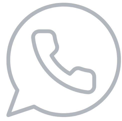 phone icon grey